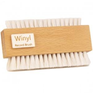 Winyl W-Double Record Brush Goats Hair