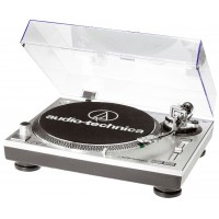 Audio Technica AT-LP120 USB Silver Turntable