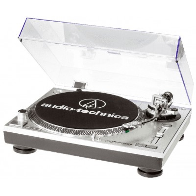 Audio Technica AT-LP120 USB Silber Plattenspieler