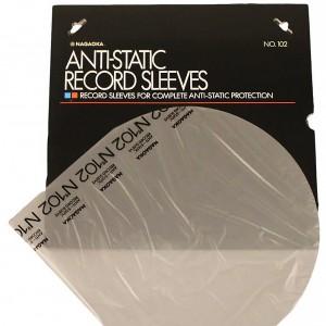 Nagaoka Discfile 102 Anti-static Record Sleeves 50 pcs.