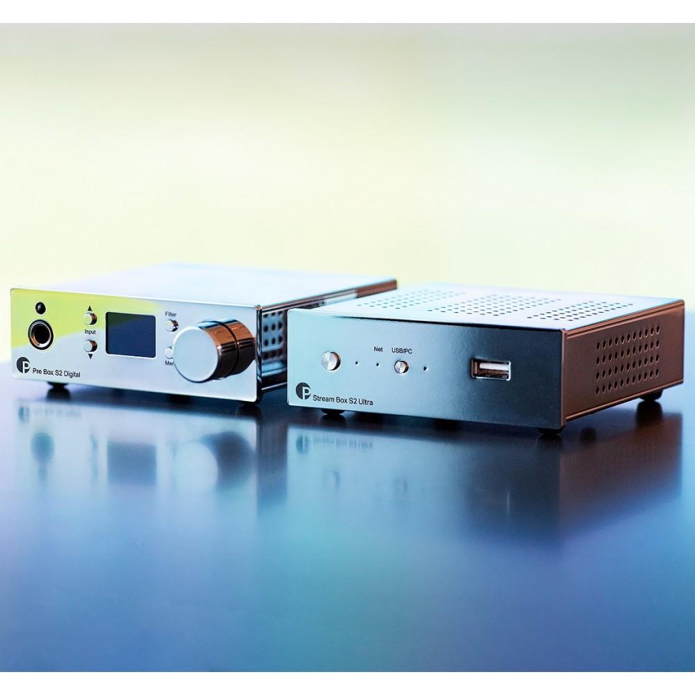 Pro-Ject DAC & Streaming Set S2 Chrome